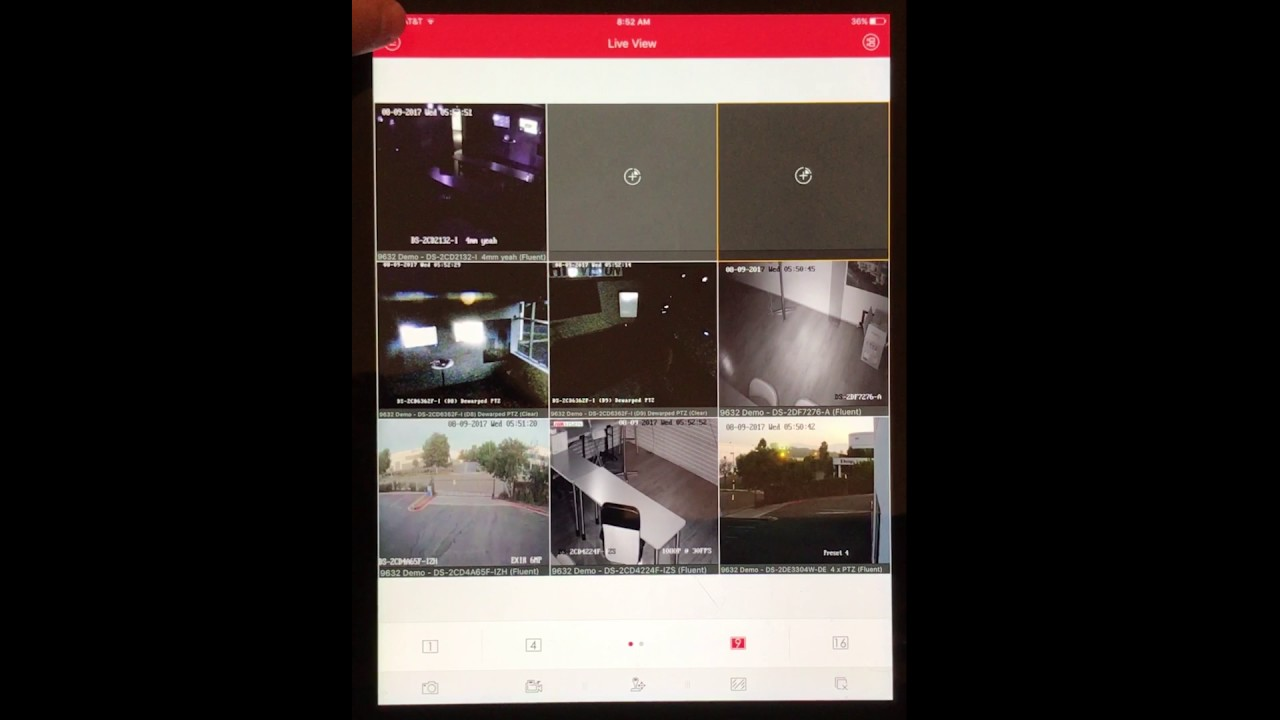 Resetting Cameras on IVMS-4500 App