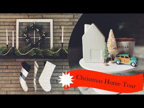 CHRISTMAS HOME TOUR | MODERN FARMHOUSE HOME TOUR