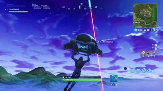 Fortnite | Aerial View of Rocket Launch. Voice Audio.