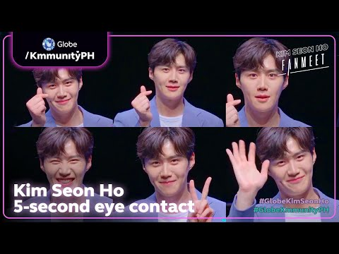 Stare Into Kim Seon Ho's Eyes For 5 Seconds | #GlobeKimSeonHo Fanmeet 210321