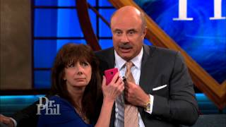 Dr. Phil Confronts Accused Online Dating Scammer