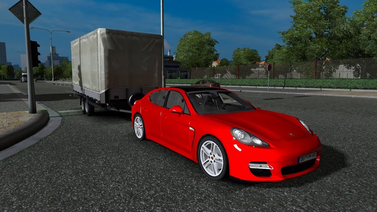Ets 2 Mod Mini Trailer For Cars And Jeeps Euro Truck Simulator 2