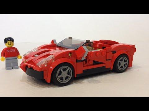 Lego Custom Ferrari 458 Spider Review Youtube