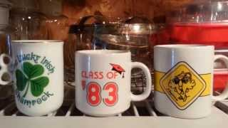 Reseller Organizing: How to Store those Darn Mugs for eBay + Antique Booth