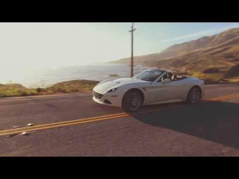Driving in Big Sur with Ferrari