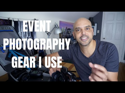 The Event Photography Gear I Use