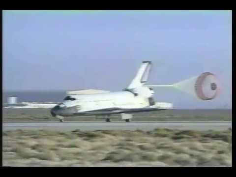 STS-58 Columbia - 57th Space Shuttle Landing