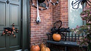DIY Halloween Spider Decor