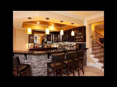 Elegant Kitchen Bar Design Decoration Ideas