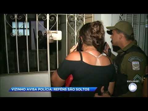 Com a chegada da polícia assaltantes fazem três reféns durante roubo no Pará