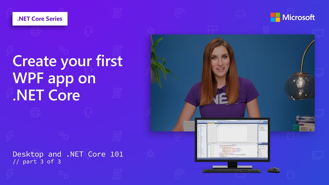 Create your first WPF app on .NET Core   Desktop and .NET Core 20 [20 of 20]