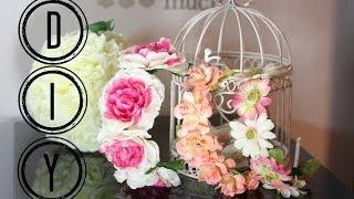DIY Spring Floral Headband Thumbnail