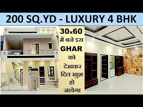 8-marla:-4-bedroom-+2-kitchen-double-storey-house-+luxury-interior-sunny-enclave-mohali-punjab-india