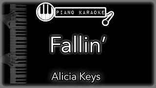 Fallin' - Alicia Keys - Piano Karaoke Instrumental