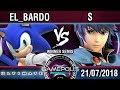 [INVITATIONAL GAMEPOLIS] El_Bardo (Sonic) vs S (Marth) - SSBU E3 Demo - Winner Semis