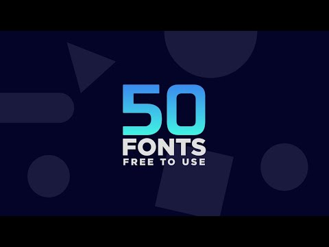 66 Beautiful Fonts - FREE To Download NOW! 📩.