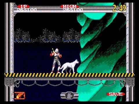 Groja Games - Zerando Shadow Dancer (Mega Drive) / 03