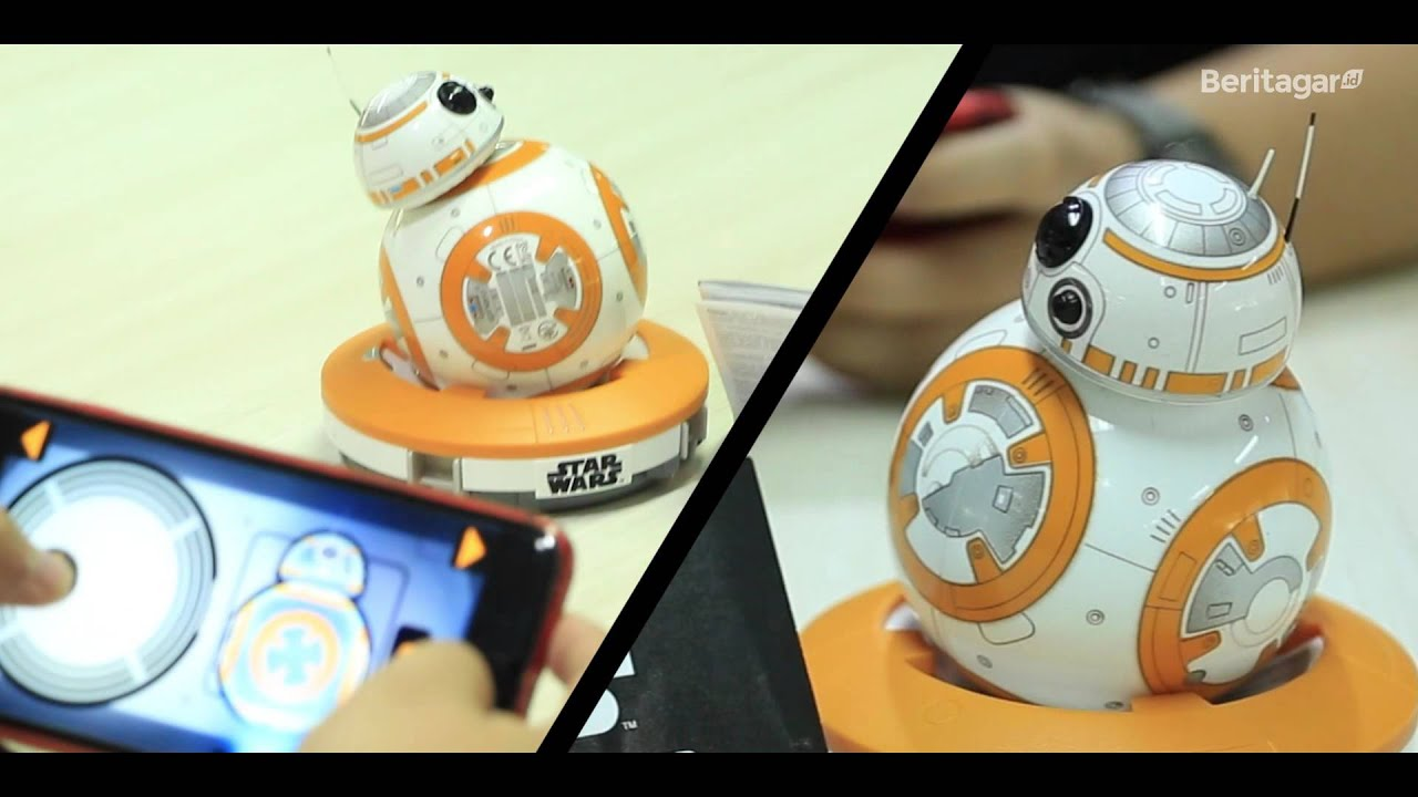 Star Wars The Force Awakens  Unboxing BB 8 by   Sphero - YouTube 6b77e149e5