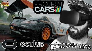GUIDIAMO UN AUTO VIRTUALE ! Project Cars - Oculus Rift CV1 + Volante [Gameplay Ita]
