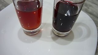 Сравнение Настойки/наливки из красной смородины и черной рябины