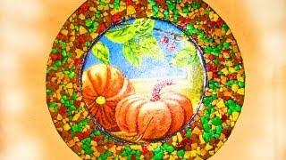 ═► Мозаика из яичной скорлупы + декупаж / Mosaic made of egg shell decoupage