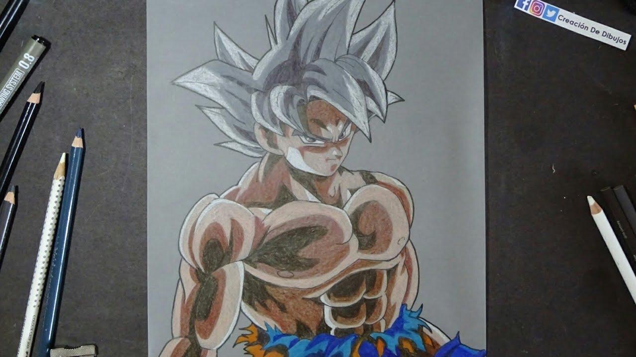 Dibujo De Goku Ultra Instinto: Goku Ultra Instinto Perfecto By HiroshiIanabaModderdeviant
