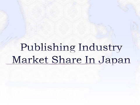 publishing industry market share in Japan