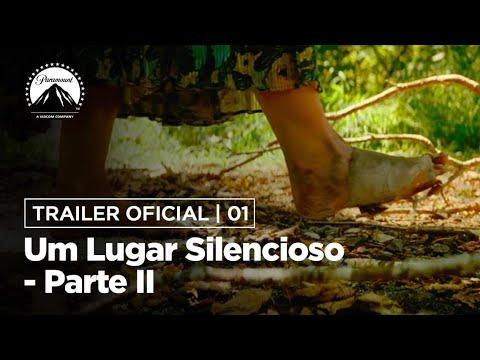Um Lugar Silencioso - Parte II   Trailer Oficial   DUB   Paramount Pictures Brasil
