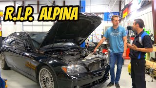 Here's Why I'm Sending My Cheap Alpina B7 to the Junkyard: MECHANICALLY TOTALED