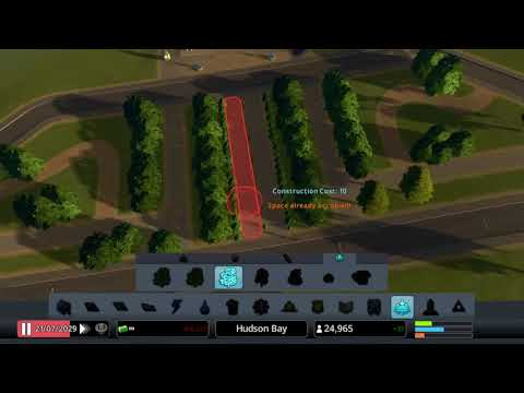 Cities: Skylines PS4 Hudson Bay pt2 city outskirts