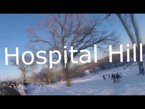 Sledding @ Hospital Hill