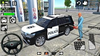 Police Land Cruiser LC 200 Offroad Driving Simulator - Android Gameplay