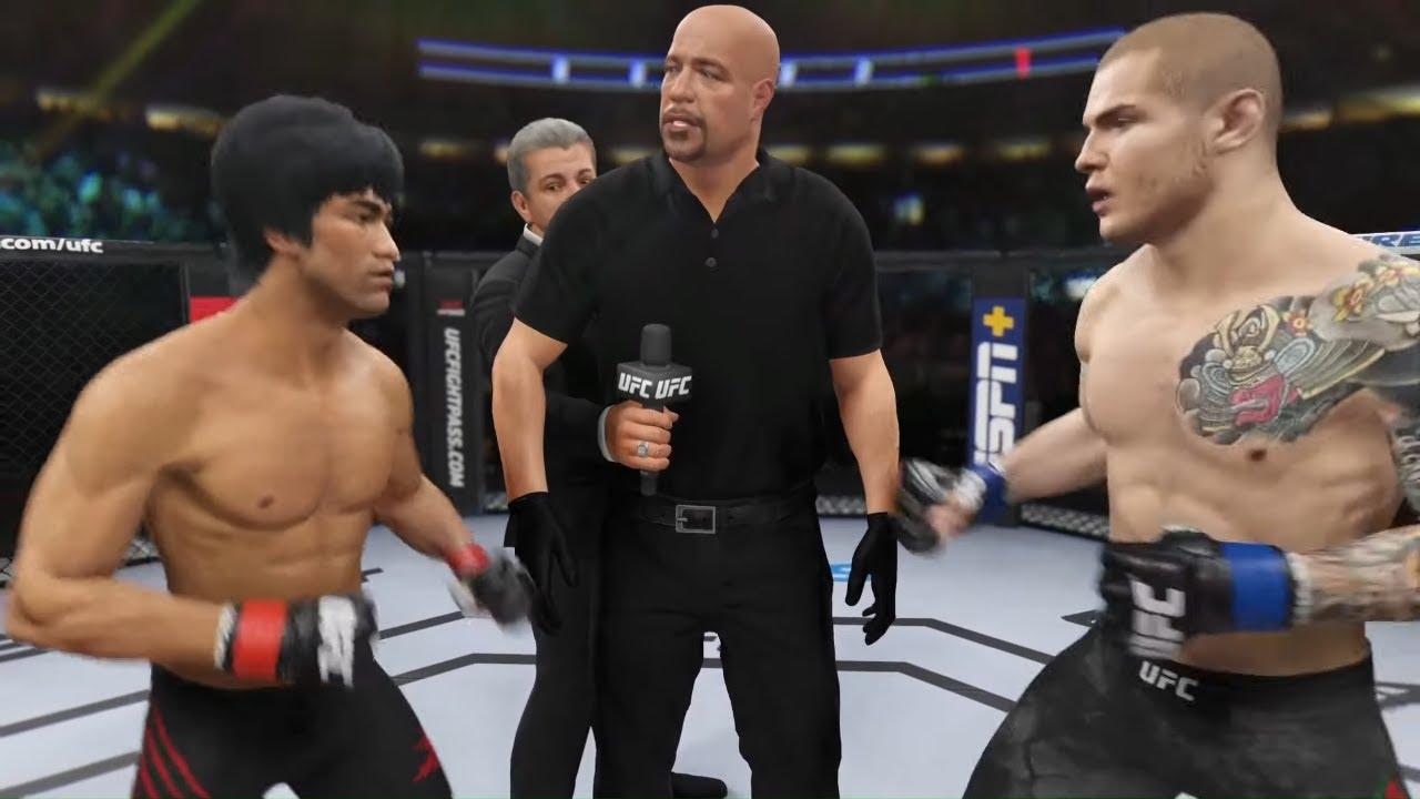 Bruce Lee vs. Marvin Vettori - EA Sports UFC 4 - Epic Fight