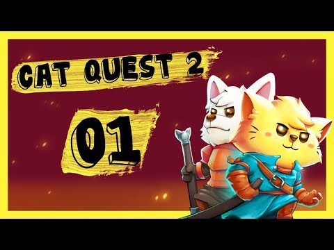 Cat Quest 2 Co-op Gameplay PC Let's Play Part 1