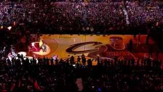 2014-2015 Cleveland Cavaliers NBA Finals Player Intros