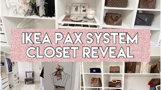 IKEA PAX SYSTEM DRESSING ROOM/…