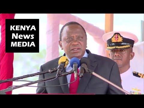President Uhuru Kenyatta SPEECH at Opening of NAMANGA BORDER POST for Kenya and Tanzania!!!
