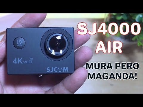 SJCAM SJ4000 Air Unboxing and Review