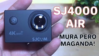 Paket Ultimate 29 in 1 SJCAM SJ4000 Air 4K 16MP Action Camera WiFi