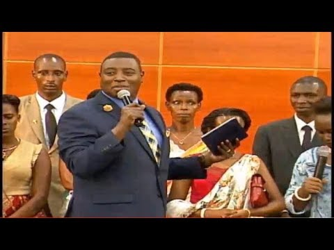 PASTOR'S ORDINATION CEREMONY AT ZTCC KIGALI RWANDA With Apostle Dr Paul M Gitwaza