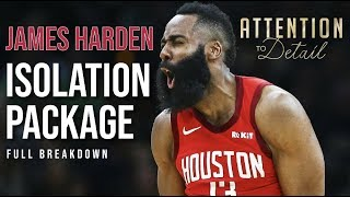 James Harden's ISO GAME Broken Down to a SCIENCE