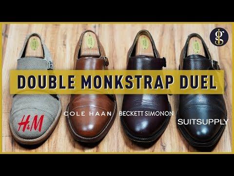 Double Monkstrap Shoes Review | Suitsupply vs Beckett Simonon Hoyt vs Cole Haan vs H&M
