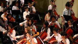 Suite 2 - Farandole - L´ Arlesienne - Georges Bizet - Orquesta Nacional Infantil del Bicentenario