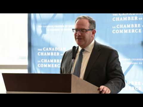 Tom Gorman, CEO, Brambles speakst at International Trade Day 2015 (audio recording)
