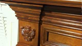Gastonia Fireplace Mantel In Cherry - Custom Mantel Design