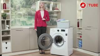 Обзор узкой стиральной машины Samsung WW65J42E02W от эксперта «М.Видео»