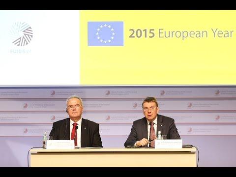 High-level press conference: Edgars Rinkēvičs and Neven Mimica
