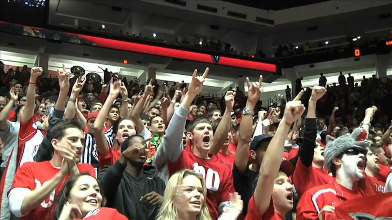 New Mexico Basketball - THE PIT - Naismith Student Section Award Video -  YouTube