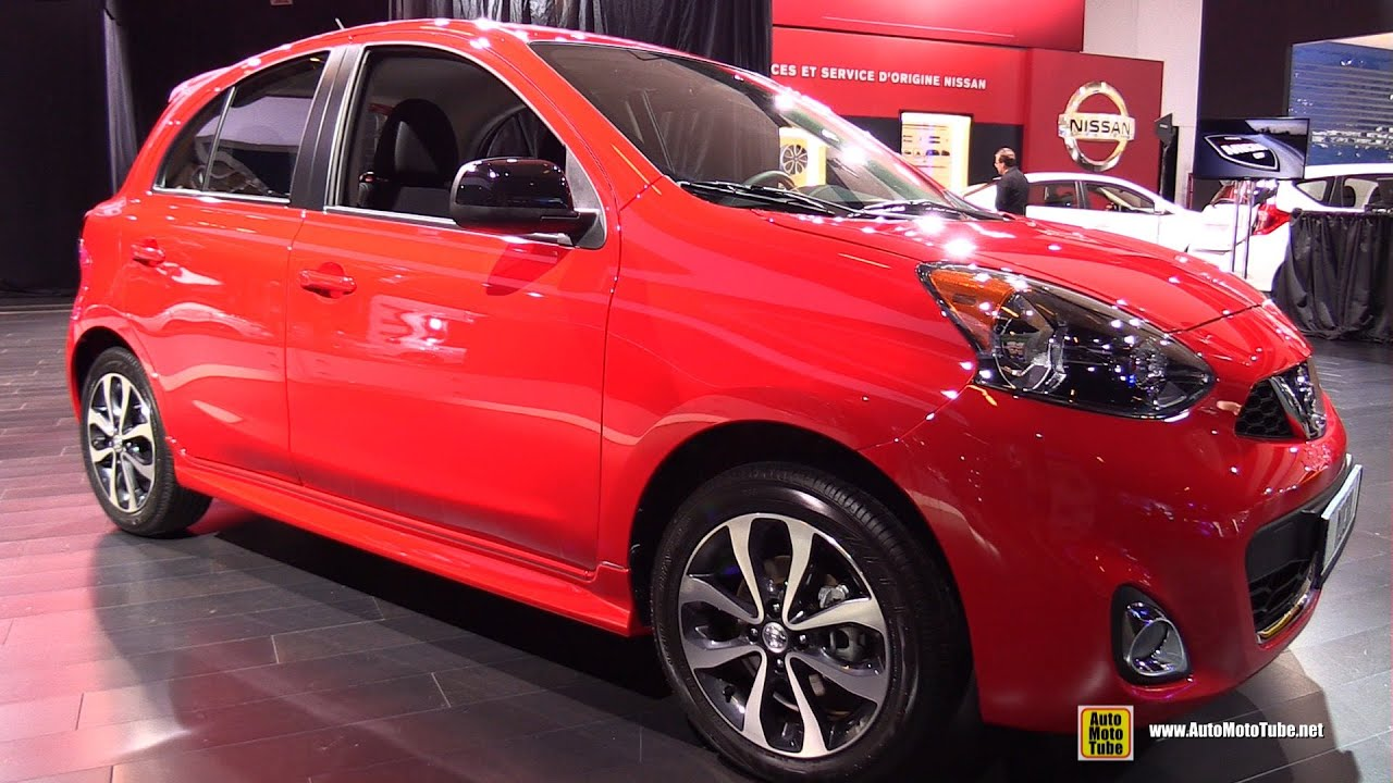 2015 nissan micra sr exterior and interior walkaround. Black Bedroom Furniture Sets. Home Design Ideas