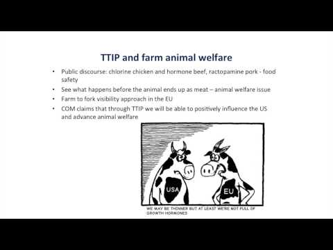 Attracta Ni Bhroin, An Taisce Vice Pres on the TTIP - 18th April 2015